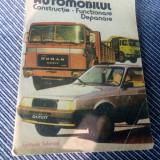 AUTOMOBILUL CONSTRUCTIE FUNCTIONARE DEPANARE - Carti auto