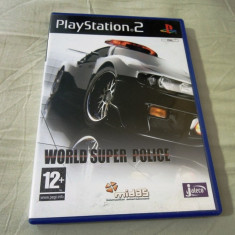 World Super Police, PS2, original! Alte sute de jocuri! - Jocuri PS2 Ubisoft, Curse auto-moto, 3+, Single player