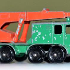 Macheta MATCHBOX LESNEY 8 Wheel Crane No. 30 - Macheta auto Matchbox, 1:64