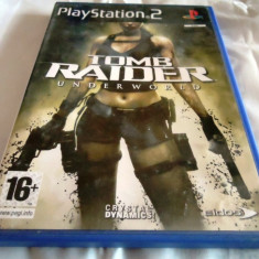 Joc Tomb Raider Underworld, PS2, original, alte sute de jocuri! - Jocuri PS2 Eidos, Actiune, 12+, Single player