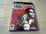 True Crime Streets of LA, PS2, original! Alte sute de jocuri!, Shooting, 16+, Single player, Activision