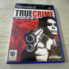 True Crime Streets of LA, PS2, original! Alte sute de jocuri!, Shooting, 16+, Single player, Activision