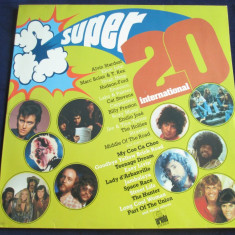 Various - Super 20 International _ vinyl, LP, compilatie _ Ariola(Germania) - Muzica Pop ariola, VINIL