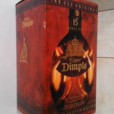 Ambalaj + sticla whisky Dimple - Cutie Reclama
