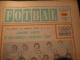 Revista FOTBAL (nr.296, 26 ianuarie 1972), interviu Rica Raducanu, foto inedite