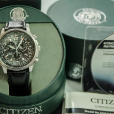 Citizen PROMASTER SKY AS4020-52E Eco-Drive Radio Controlled !!! - Ceas barbatesc Citizen, Mecanic-Automatic