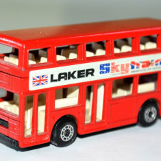 Macheta MATCHBOX LESNEY - London Bus/ 1981 - Macheta auto Matchbox, 1:58