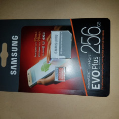 CardMicroSDXC EVO+ Memory Card w/ Adapter 256GB - Card memorie Samsung, 128 GB