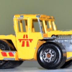 Macheta MATCHBOX Bomag Road Roller / 1978 Tailanda - Macheta auto Matchbox, 1:64