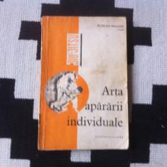 Jiu jitsu Arta apararii individuale Florian Frazzei carte sport foto hobby 1969