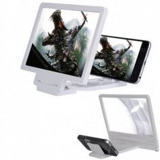 Lupa 3D portabila pentru telefon mobil