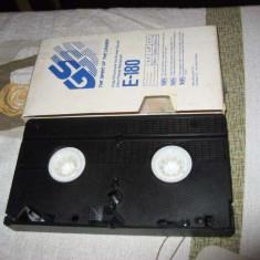 Caseta video VHS PAL Secam Goldstar E-180 - 180 min