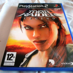Joc Tomb Raider Legend, PS2, original, alte sute de jocuri! - Jocuri PS2 Eidos, Actiune, 12+, Single player