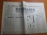 ziarul dreptatea 24 ianuarie 1991-132 de ani de la unirea lui cuza