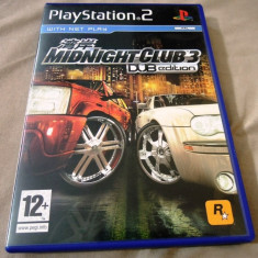 Midnight Club 3 Dub Edition, PS2, original! Alte sute de jocuri! - Jocuri PS2 Ubisoft, Shooting, 12+, Single player