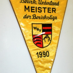 Fanion Mare Maestru Lupte - Germania - 1990 - Fanion handbal