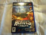 Heroes of the Pacific, PS2, original! Alte sute de jocuri!, Simulatoare, 12+, Single player, Codemasters