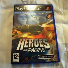 Heroes of the Pacific, PS2, original! Alte sute de jocuri! - Jocuri PS2 Codemasters, Simulatoare, 12+, Single player