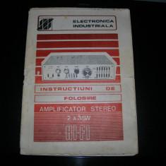Manual amplificator Electronica A350