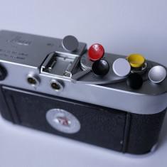 Butoane SOFT RELEASE - 100% cupru. PT: Leica, Nikon, Canon, Olympus, Fuji etc.