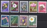 JUGOSLAVIA 1957, Flora, serie neuzata, MNH, Nestampilat