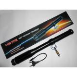 Baston electrosoc metalic 37 cm Lanterna