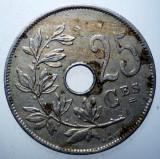 1.420 BELGIA 25 CENTIMES 1929, Europa, Cupru-Nichel