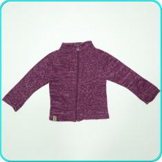 Jacheta din bumbac tricot, frumoasa, de calitate, H&M → fete | 5—6 ani | 116 cm, Marime: Alta, Culoare: Mov