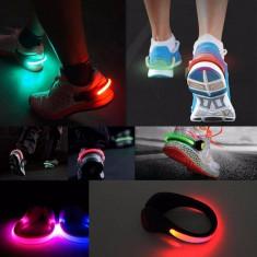 Set 2 bratari LED pentru alergat - Bratara prieteniei