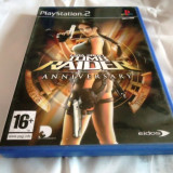 Joc Tomb Raider Anniversary, PS2, original, alte sute de jocuri! - Jocuri PS2 Eidos, Actiune, 12+, Single player