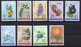 JUGOSLAVIA 1961, Flora, serie neuzata, MNH