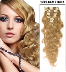 Extensii Par 100 Natural Ondulat Blond Mediu 60 Cm Arhiva Okaziiro
