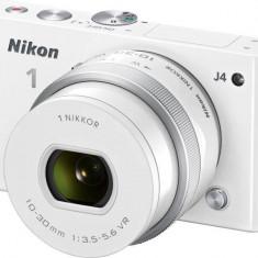 Aparat foto Nikon 1 J4 (obiectiv 10-30mm), alb - Aparat Foto compact Canon