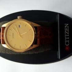 Ceas Citizen din aur - Ceas barbatesc Citizen, Quartz