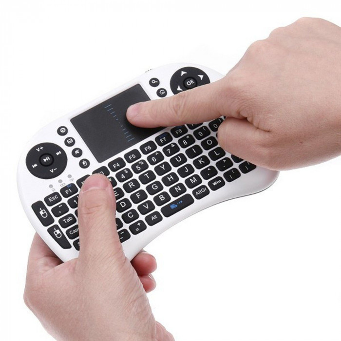 Mini TASTATURA WIRELESS cu TOUCHPAD pt SmartTV laptop Android Box etc.