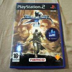 Joc Soul Calibur III, PS2, original, alte sute de jocuri! - Jocuri PS2 Sony, Actiune, 18+, Multiplayer