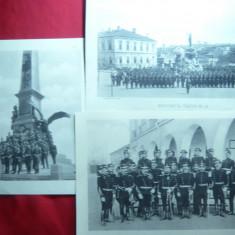5 Fotografii din Albumul Armata Romana 1902 -25 Ani de la Independenta - Fotografie veche