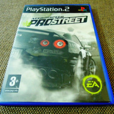 Need For Speed Pro Street, NFS, PS2, original! Alte sute de jocuri! - Jocuri PS2 Ea Games, Curse auto-moto, 3+, Single player