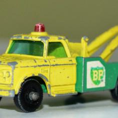 Macheta MATCHBOX LESNEY Dodge Wreck Truck No. 13 - Macheta auto Matchbox, 1:64