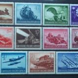 GERMANIA (REICH) 1943 – ARMATA IN RAZBOI, serie nestampilata cu SARNIERA A72