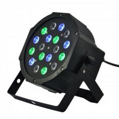Proiector cu efecte lumini LED Flat Par - Efecte lumini club