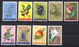 JUGOSLAVIA 1959, Flora, serie neuzata, MNH
