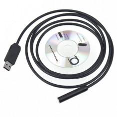 Camera endoscop + cablu cu mini USB pentru android - Camera spion