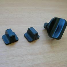 Set trei butoane magnetofon Tesla B115