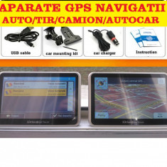 "GPS  Navigatii HD 7"" NAVIGATIE AUTO GPS TIR GPS CAMION HARTI GPS EUROPA 2017, Toata Europa, Lifetime"