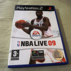 NBA Live 09, PS2, original! Alte sute de jocuri! - Jocuri PS2 Ea Sports, Sporturi, 3+, Multiplayer