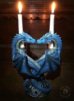 Suport lumanari Inima de dragon foto