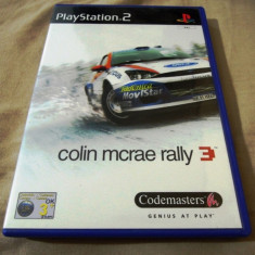 Joc Colin Mcrae Rally 04 PS2, original, alte sute de jocuri! - Jocuri PS2 Codemasters, Curse auto-moto, 3+, Multiplayer