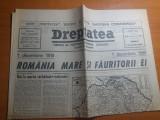 Ziarul dreptatea 1 decembrie 1990-72 de ani de la mara unire
