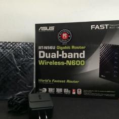 Router Wireless ASUS RT-N56U Dual band - 300 Mbps, Port USB, Porturi LAN: 4, Porturi WAN: 1
